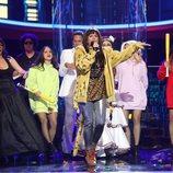 Lucía Jiménez imita a La Mala Rodríguez en la gala 19 de 'Tu cara me suena'