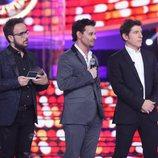 Miquel Fernández escucha la valoración del jurado en la gala 19 de 'Tu cara me suena'
