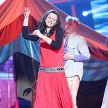 Nya de la Rubia es Chambao en la gala 19 de 'Tu cara me suena'