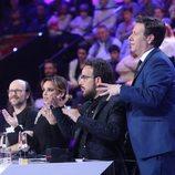 El jurado de 'Tu cara me suena' con Santiago Segura en la gala 19