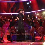 La Terremoto de Alcorcón imita a Shirley Bassey en la segunda semifinal de 'Tu cara me suena'