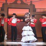 Pepa Aniorte imita a Esperanza Roy en la semifinal de 'Tu cara me suena'