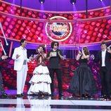 Los finalistas de 'Tu cara me suena 6' con Manel Fuentes