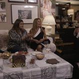 Lucía Etxebarria, Ana Obregón y Rappel en casa de Víctor Janeiro en 'Ven a cenar conmigo: Gourmet edition'