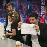 Alfred y Amaia gastan una broma a Pablo Motos durante su visita a 'El Hormiguero?