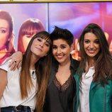 Aitana, Alejandra Castelló y Ana Guerra en 'Hora Punta'