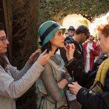 Macarena García se prepara para el rodaje de 'La otra mirada'