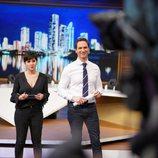 Alejandra Castelló y Javier Cárdenas presentan 'Hora punta' en TVE