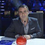 Jorge Javier Vázquez en la primera semifinal de la tercera edición de 'Got Talent España'
