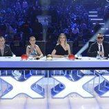 Los miembros del jurado de la tercera edición de 'Got Talent España' en la primera semifinal