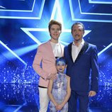 Petruska, Michael Andreas y Raúl, finalistas de la primera semifinal de la tercera edición de 'Got Talent España'