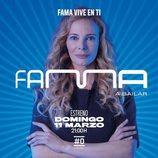 Póster promocional de Paula Vázquez, presentadora de 'Fama a bailar 2018'