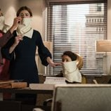 Cush Jumbo, Rose Leslie y Sarah Steele en 'The Good Fight'