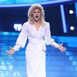 Lucía Gil es Bonnie Tyler en la gala final de 'Tu cara me suena'