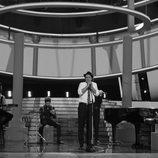 Raúl Pérez es Zenet en la gala final de 'Tu cara me suena'