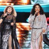 La terremoto de Alcorcón y Cristóbal Garrido son Barbra Streissand y Donna Summer en la gala final de 'Tu cara me suena'