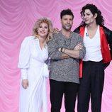 Miquel Fernández, Lucía Gil y Fran Dieli, finalistas en la gala final de 'Tu cara me suena'