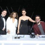 El jurado en la gala final de la sexta edición de 'Tu cara me suena'