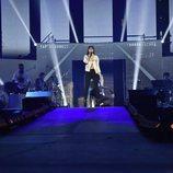 Aitana en el ensayo de la Gira de 'OT 2017'