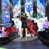 Ana Guerra en el ensayo de la Gira de 'OT 2017'