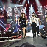 Ana Guerra y Aitana en el ensayo de la Gira de 'OT 2017'