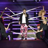 Agoney en el primer concierto de la Gira de 'OT 2017'