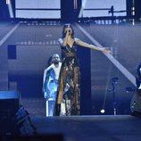 Aitana durante el primer concierto de la Gira de 'OT 2017'