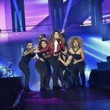 Miriam en el primer concierto de la Gira 'OT 2017'