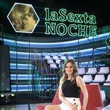 Andrea Ropero, presentadora de 'laSexta Noche'