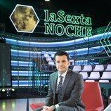 Iñaki López, sentado en el plató de 'laSexta Noche'