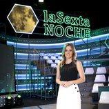 Andrea Ropero, en el plató de 'laSexta Noche'