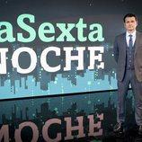 Iñaki López, en el plató de 'laSexta Noche'