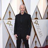 Martin McDonagh posa en la alfombra roja de los Oscar 2018