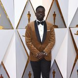 Daniel Kaluuya posa en la alfombra roja de los Oscar 2018