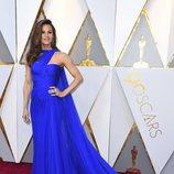 Jennifer Garner posa en la alfombra roja de los Oscar 2018