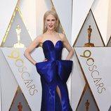 Nicole Kidman posa en la alfombra roja de los Oscar 2018