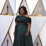 Octavia Spencer posa en la alfombra roja de los Oscar 2018