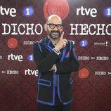José Corbacho en la presentación de 'Dicho y hecho'