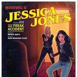 Capítulo 2 de la segunda temporada de 'Jessica Jones' como si fuera un cómic