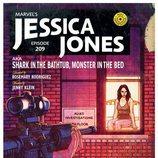 Capítulo 9 de la segunda temporada de 'Jessica Jones' como si fuera un cómic