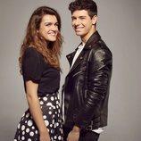 Amaia y Alfred, frente a frente, en el posado oficial para Eurovisión 2018