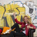 Paula Vázquez sonríe en la presentación de 'Fama a bailar'