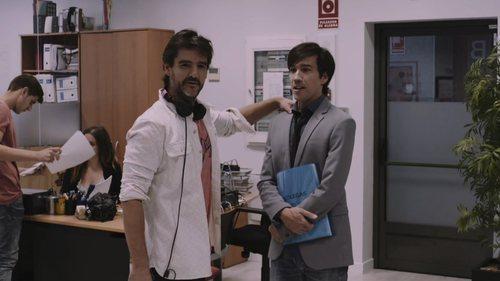 Manuel Feijoo y Antonio Hortelano en el último capítulo de la primera temporada de 'Colegas'
