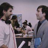 Antonio Hortelano y Manuel Feijoo en el último capítulo de la primera temporada de 'Colegas'