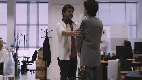 Antonio Hortelano y Manuel Feijoo hablan en el último capítulo de la primera temporada de 'Colegas'