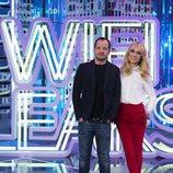 Ángel Martín y Patricia Conde, en la presentación de 'WifiLeaks'