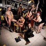 Teté Delgado posa desnuda para Primera Línea entre bastidores de un teatro
