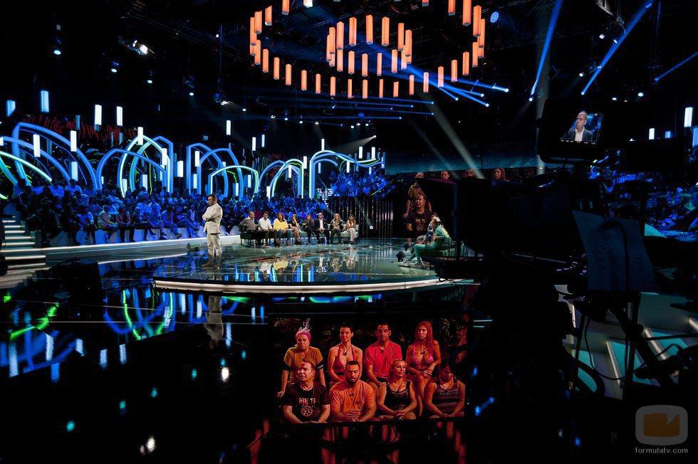 Imágenes del plató de 'Supervivientes 2018' durante su Gala inaugural