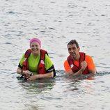 Mayte Zaldívar y Fernando Marcos llegan a la isla de 'Supervivientes 2018'