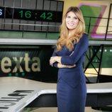 Diana Mata, presentadora de 'laSexta Noticias'